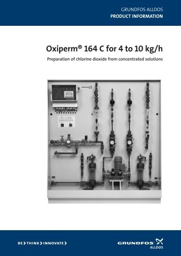 oxiperm® 164 c for 4 to 10 kg/h