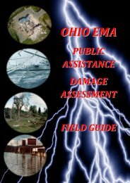 PA Damage Assessment Field Guide - Ohio Emergency ...