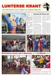 Sinterklaas kwam ook in Ederveen (boven) en Otterlo (onder)