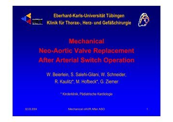 Mechanical Neo-Aortic Valve Replacement After Arterial Switch ...