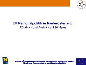 eu regionalpolitik in nö