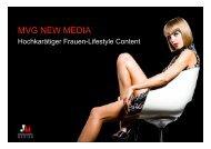 MVG NEW MEDIA - MVG Medien Verlagsgesellschaft mbh & Co.