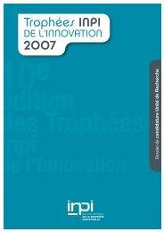 UNITE? RECHERCHE:DOSSIER CANDID-01 - Bretagne Innovation