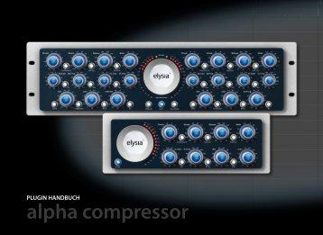 alpha compressor - Plugin Alliance