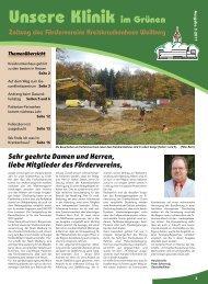 Unsere Klinik im Grünen - Kreiskrankenhaus Weilburg gGmbH