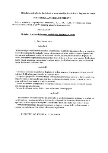 sederea si munca strainilor.PDF - Munca in Strainatate