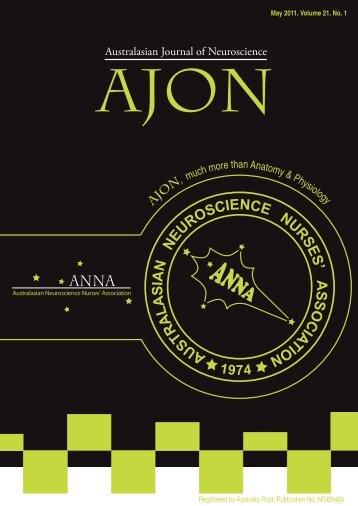 May 2011 - Australasian Neuroscience Nurses Association