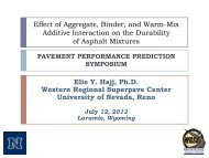 Effect of Aggregate, Binder, and Warm-Mix Additive Interaction on ...