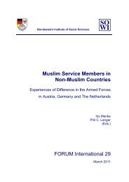 Muslim Service Members in Non-Muslim Countries FORUM International ...