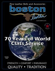 boston leather catalog - Public Safety Equipment Company LLC