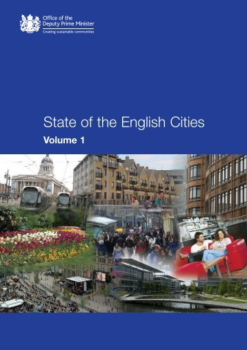 State of the English Cities Volume 1 and 2 - Barnsley Council Online