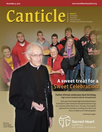 Father Klimek celebrates 83rd birthday - Sacred Heart Hospital