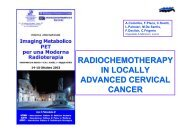 radiochemotherapy in locally advanced cervical cancer