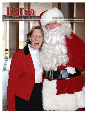 Rxtra (Monthly), January 5, 2009 - Hartford Hospital!