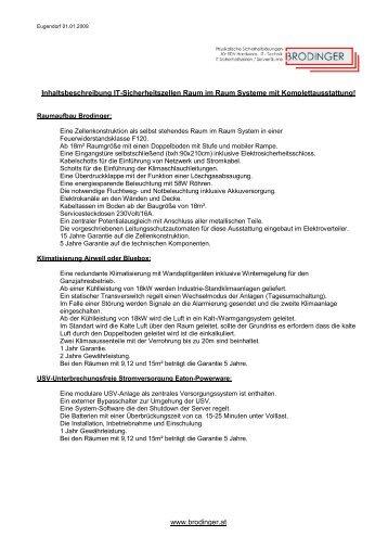 Inhaltsbeschreibung Komplettlösung - Brodinger.at