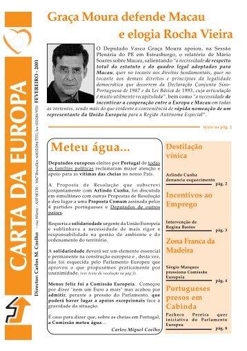 Fevereiro - Carlos Coelho