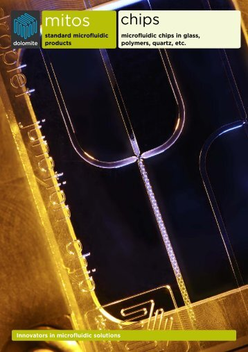 Innovators in microfluidic solutions standard microfluidic products ...