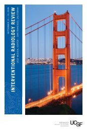 interventional radiology review - University of California, San ...