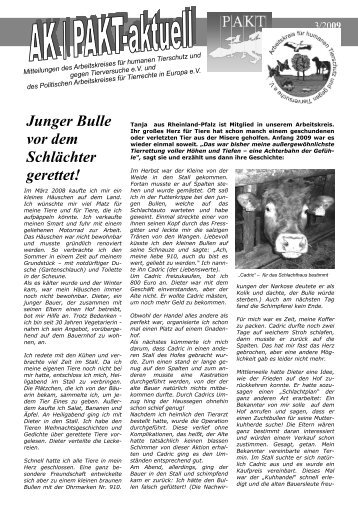 download - Deutsches Tierschutzbüro eV