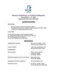 Workshop Program - Instituto de Investigaciones Eléctricas