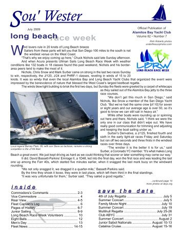 race week volunteers long beach - ABYC