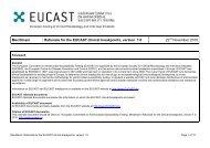 Mecillinam - eucast