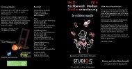 Studio5-Infotag 2011 Programm - FH D | FB Medien ...
