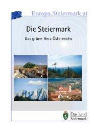 Steiermark - Das grüne Herz Österreichs - Europa Steiermark - Land ...