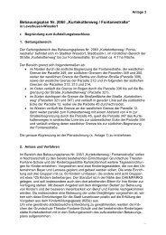 Bebauungsplan Nr - Stadt Leverkusen