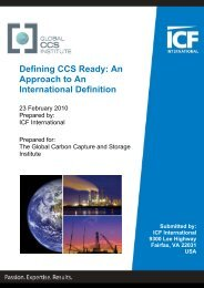 Defining CCS Ready: An Approach to An International Definition