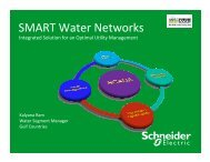 SMART Water Networks - Smart Grid News