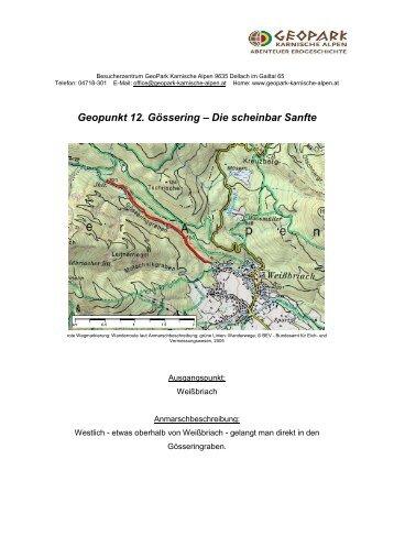Geopunkt 12 - Geopark Karnische Alpen