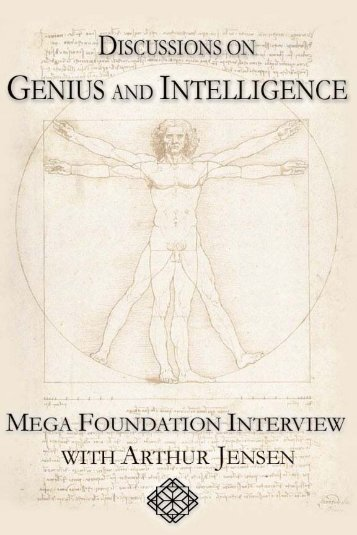 Discussions of Genius - Interview with Arthur Jensen
