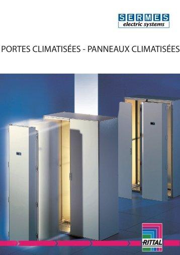 PORTES CLIMATISÉES - PANNEAUX CLIMATISÉES - Sermes