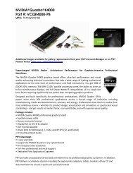 NVIDIA Quadro K4000 Web Assets - PNY