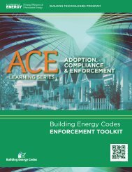 Enforcement - Building Energy Codes