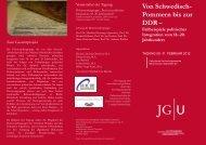 Flyer Tagung - Historisches Seminar, JGU Mainz - Johannes ...
