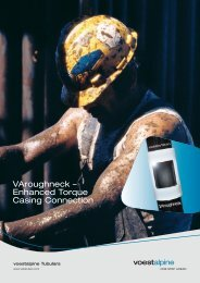 VAroughneck – Enhanced Torque Casing Connection - voestalpine