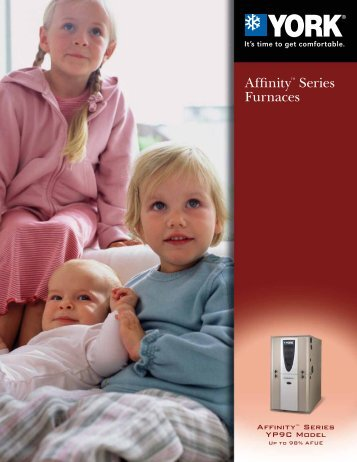 Affinity Series Furnaces - Mendon Heating & Cooling