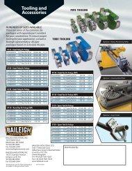 Rotary Draw Benders RDB-Series - Baileigh Industrial
