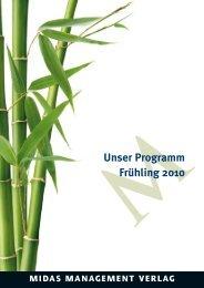 MUnser Programm Frühling 2010