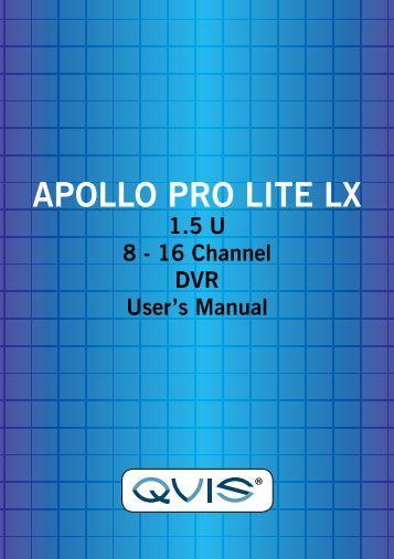 APOLLO PRO LITE LX.pdf - Qvis Security