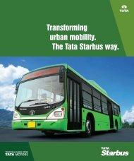Starbus Low Entry City Bus - Buses - Tata Motors