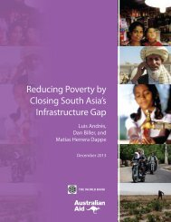 Reducing Poverty by Closing South Asia's Infrastructure Gap_Web
