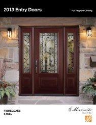 View Entry Doors Brochure - Masonite