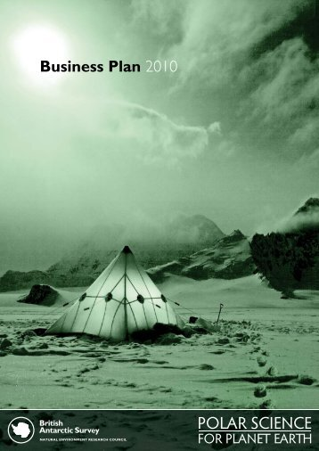 BAS Business Plan - British Antarctic Survey