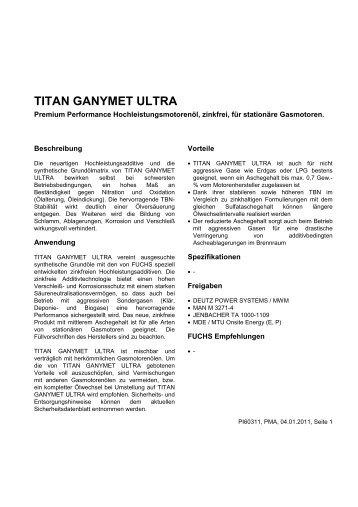 titan ganymet ultra - Korb Schmierstoffe
