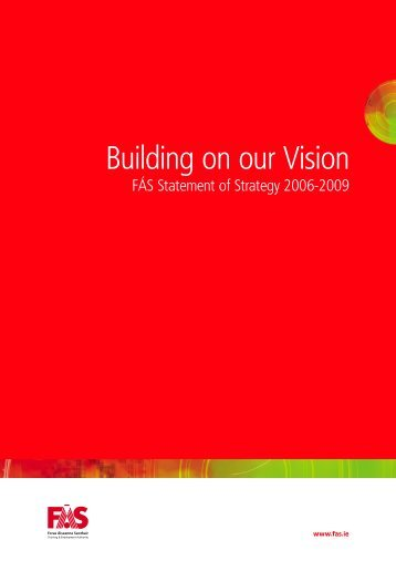 Building on our Vision - Fás