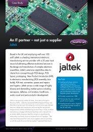An IT partner – not just a supplier - Softcat