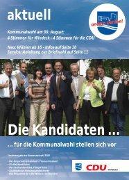 4 Stimmen für Windeck - Thomas Rossbachs Weblog